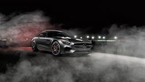 2016 Mercedes AMG GTS Royalty Free Stock Photos
