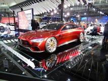 Mercedes-AMG, il concetto della GT Immagine Stock