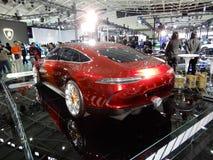 Mercedes-AMG, il concetto della GT fotografie stock