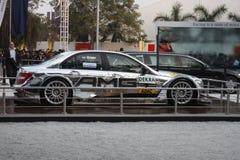 Mercedes AMG op vertoning in AutoExpo 2012 Royalty-vrije Stock Afbeeldingen
