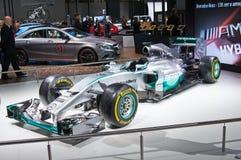Mercedes AMG Petronas F1 Royaltyfri Fotografi