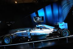 Mercedes AMG PETRONAS F1 W05 Hybrid Stock Photography