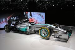 Mercedes AMG Petronas F1 W05 Royalty Free Stock Image