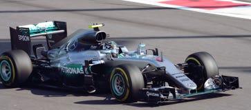 Mercedes AMG Petronas Grand prix F1 2016 Images libres de droits