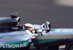 Mercedes AMG Petronas Grand prix F1 2016 Images stock