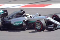 Mercedes AMG Petronas Prix grande F1 2016 Fotografia de Stock Royalty Free