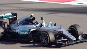 Mercedes AMG Petronas Prix grande F1 2016 Imagem de Stock