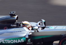 Mercedes AMG Petronas Prix grande F1 2016 Imagens de Stock