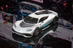 Mercedes AMG Project One Stock Photos