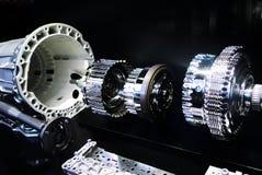 Mercedes automatisk överföring Fotografering för Bildbyråer