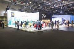 Mercedes-Autos stockfotografie