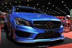 Mercedes Benzâ-€Ž Auto am 3. internationalen autosalon 2015 Bangkoks am 27. Juni 2015 in Bangkok, Thailand Stockfotografie