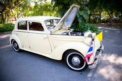 Mercedes Benz 170 S on Vintage Car Parade Stock Photos