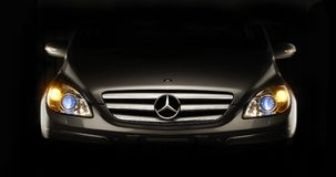 The Mercedes benz. Stock Images