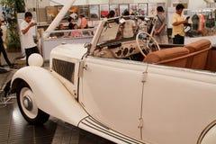 Mercedes-Benz 190 SL, coches de la vendimia Foto de archivo