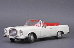 Mercedes-Benz 280 SE. Maisto 1:18 scale diecast model Royalty Free Stock Photo