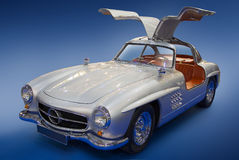 MERCEDES-BENZ 300SL Gullwing Stockfotos
