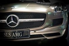 Mercedes benz. royaltyfri foto