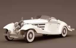 Mercedes-Benz 540k - wedding car Royalty Free Stock Images