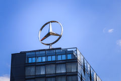 Mercedes-Benz royaltyfri bild