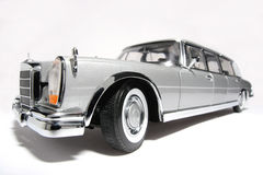 Mercedes Benz 600 metal scale toy car fisheye #2 Stock Images