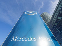 Mercedes Benz Royalty-vrije Stock Afbeeldingen