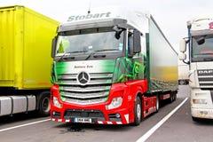 Mercedes-Benz Actros Royalty Free Stock Photos