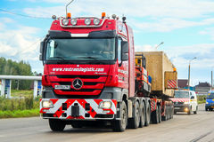 Mercedes-Benz Actros Royalty Free Stock Images