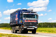 Mercedes-Benz Actros Royalty Free Stock Photography