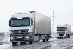 Mercedes-Benz Actros Stock Photography