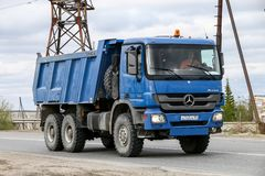 Mercedes-Benz Actros royalty free stock image