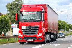 Mercedes-Benz Actros Royalty Free Stock Photos