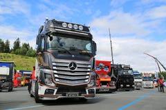 Mercedes-Benz Actros 2651 Uniq Concept Truck Royalty Free Stock Photos