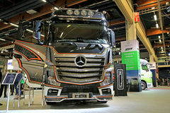 Mercedes-Benz Actros 2651 Uniq Concept Truck Royalty Free Stock Photography