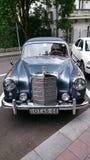 Mercedes Benz Adenauer - esposizione automatica della Romania retro in Sinaia Fotografie Stock Libere da Diritti