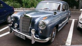 Mercedes Benz Adenauer - salón del automóvil retro de Rumania en Sinaia Fotos de archivo libres de regalías