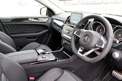 Mercedes-Benz All New GLE  2015 Interior Royalty Free Stock Images