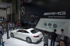 Mercedes-Benz AMG booth Royalty Free Stock Photo