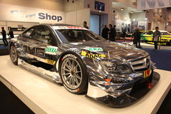 Mercedes-Benz AMG DTM. ESSEN - NOV 29: Mercedes-Benz AMG DTM shown at the Essen Motor Show in Essen, Germany, on November 29, 2011 Stock Photography