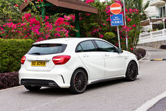 Mercedes-Benz A 45 AMG Full Body Royalty Free Stock Photo