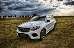 Mercedes Benz AMG GLE 43 V6 Biturbo 2017 Royalty-vrije Stock Foto's