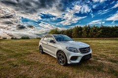 Mercedes Benz AMG GLE 43 V6 Biturbo 2017 royalty free stock photo
