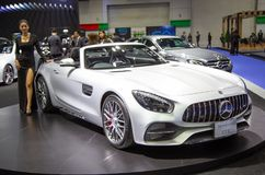 Mercedes Benz AMG GT C stock photography