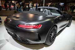 2017 Mercedes Benz AMG GT 50 Edition sports car Royalty Free Stock Photo