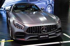Mercedes Benz AMG GT stock afbeelding