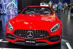 Mercedes Benz AMG GT stock foto