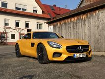 Mercedes Benz Amg gts Royalty Free Stock Images