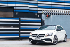 Mercedes-Benz A45 AMG 2016 Test Drive Day Royalty Free Stock Image
