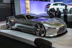 Mercedes-Benz AMG Vision Gran Turismo car on display at the LA A Royalty Free Stock Photo