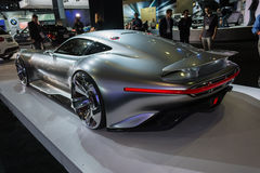 Mercedes-Benz AMG Vision Gran Turismo car on display at the LA A Royalty Free Stock Images